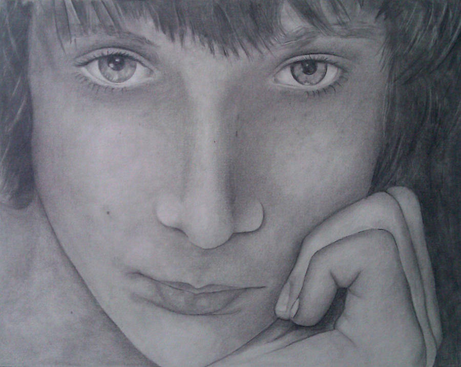 pencil drawing by Goldphishy