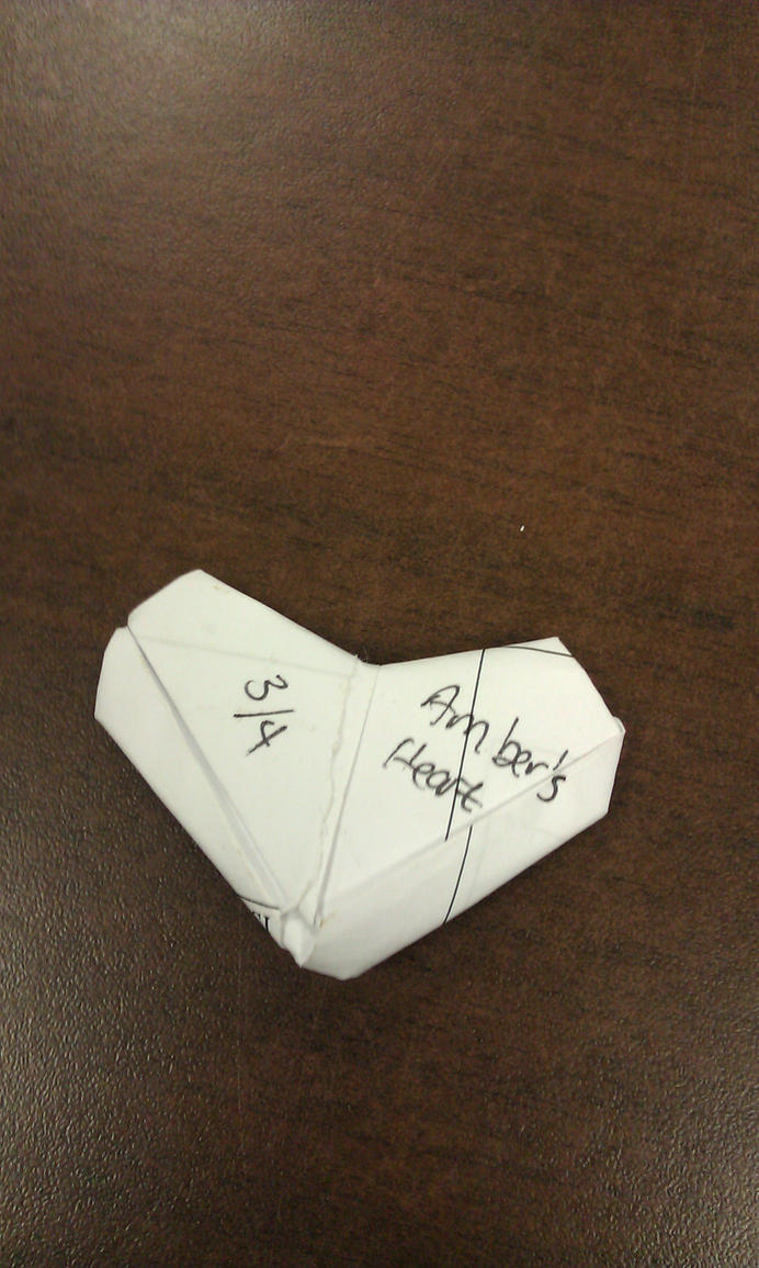 ambers heart by Goldphishy