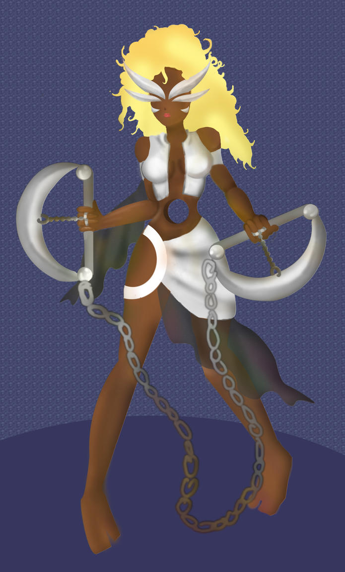 my arrancar character by Goldphishy