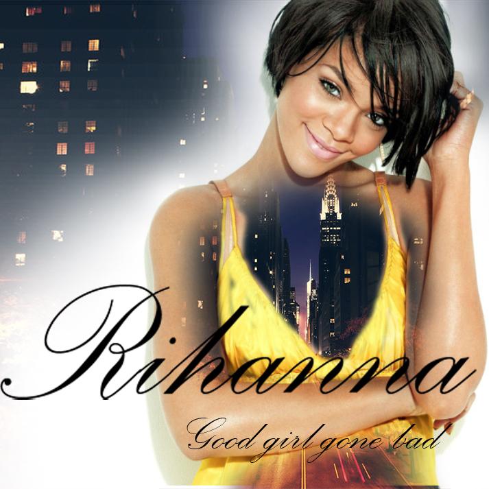 rihanna cd cover by Goldphishy