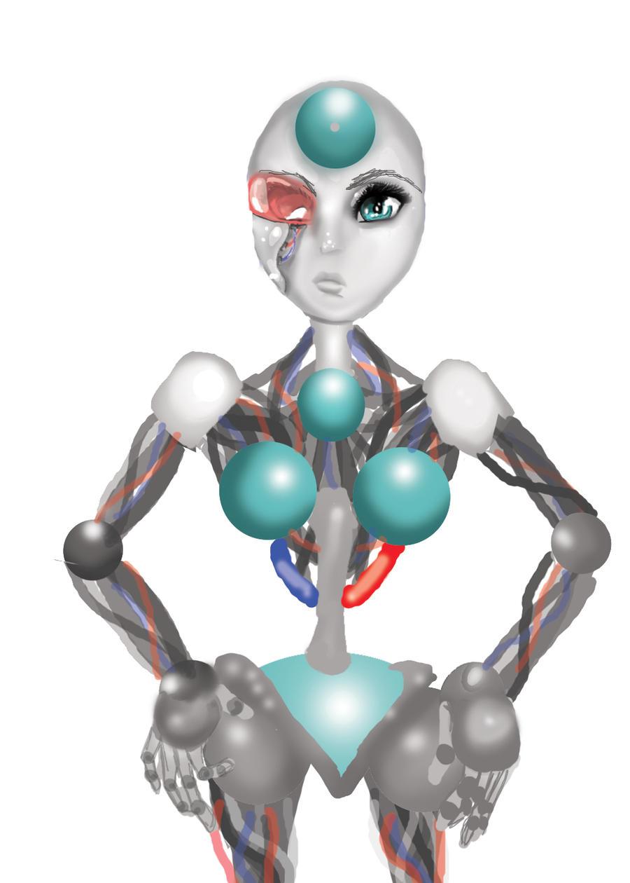 day 4 ROBOT by Goldphishy