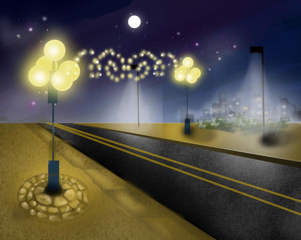 Ybor at night by Goldphishy