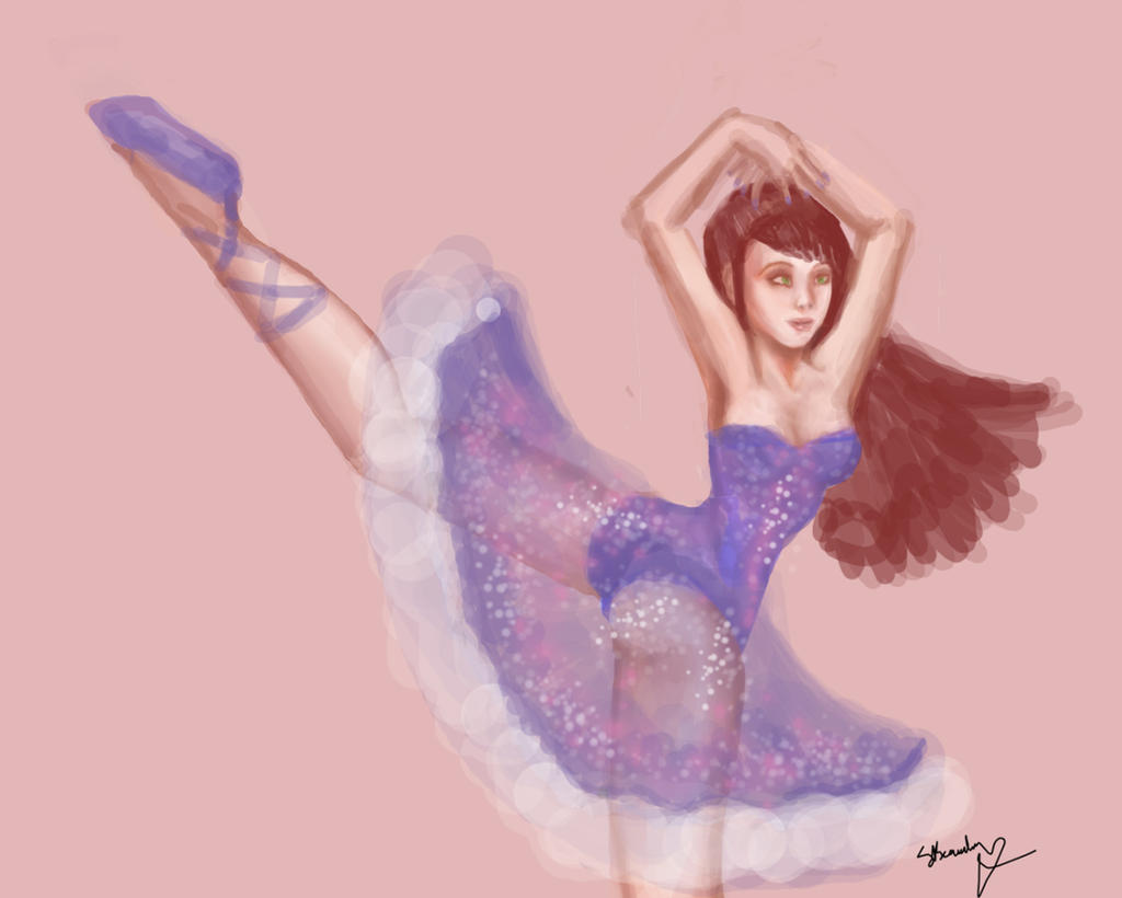 Ballerina by Goldphishy