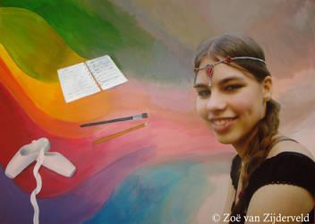 Selfportrait by Feia-Aila