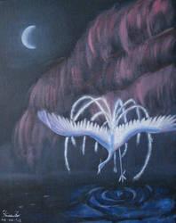 Water Bird by Feia-Aila