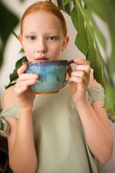 GREEN TEA for BABIEKINS MAGAZINE by elle-cannelle