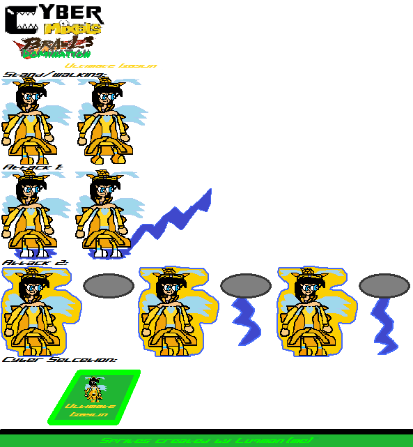 CMB3D Sprites - Ultimate Izaylin by Luqmandeviantart2000