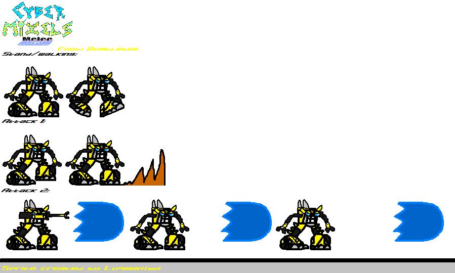 CMM Sprites - Footi Bumblebee by Luqmandeviantart2000