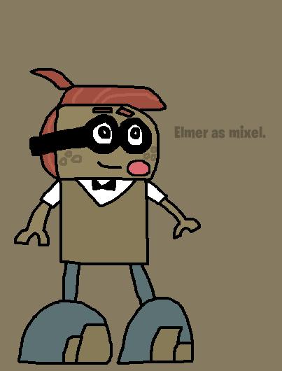 Mixels: Elmer as mixel by Luqmandeviantart2000