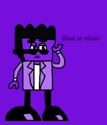 Mixels: Chad as mixel by Luqmandeviantart2000