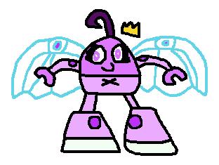 Cyber FOM: Poof Fairywinkle-Cosma by Luqmandeviantart2000