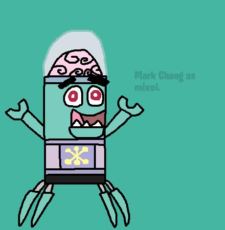 Mixels: Mark Chang as mixel by Luqmandeviantart2000