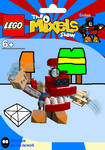 LEGO The Mixels Show: Krohootus Package Bag