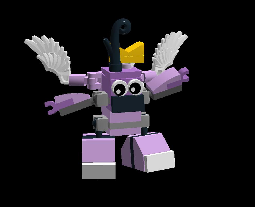 LEGO Fairly Odd Mixes: Poof Fairywinkle-Cosma by Luqmandeviantart2000