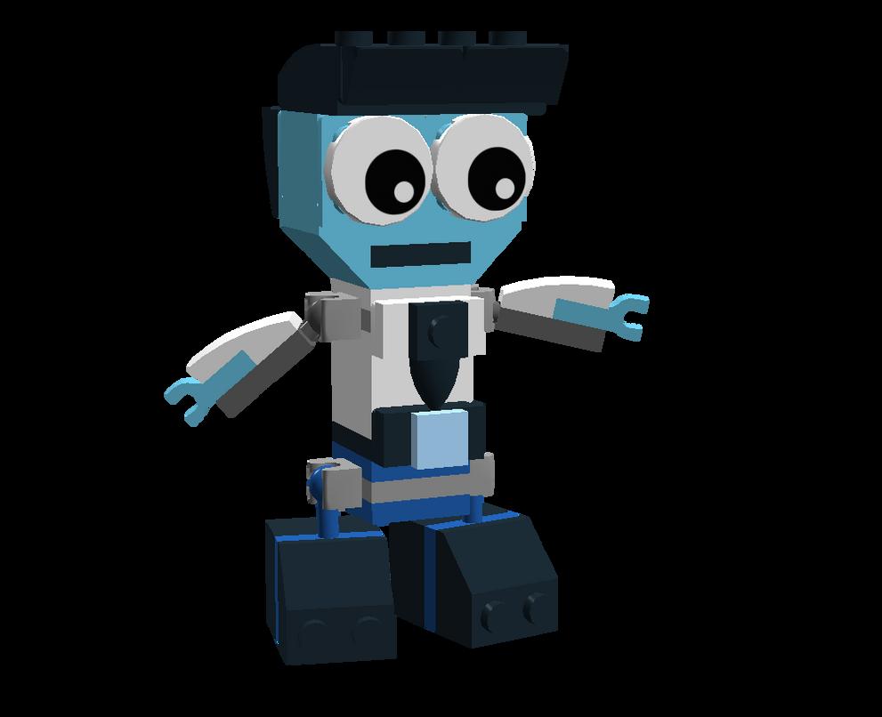 LEGO Fairly Odd Mixes: Mr. Turner by Luqmandeviantart2000