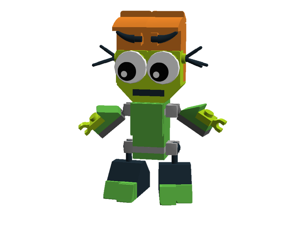 LEGO Fairly Odd Mixes: Vicky by Luqmandeviantart2000
