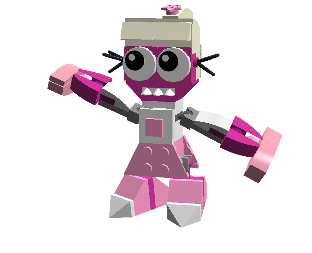 LEGO Fairly Odd Mixes: Veronica by Luqmandeviantart2000