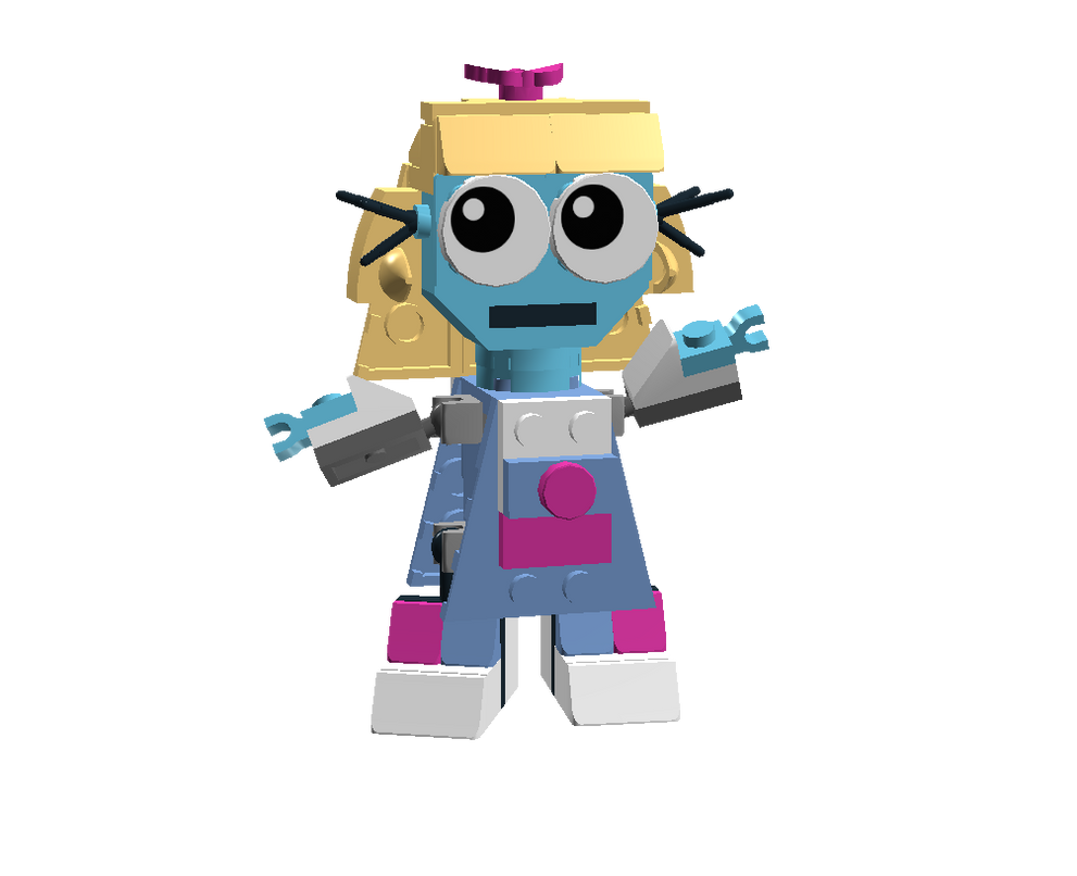 LEGO Fairly Odd Mixes: Missy by Luqmandeviantart2000