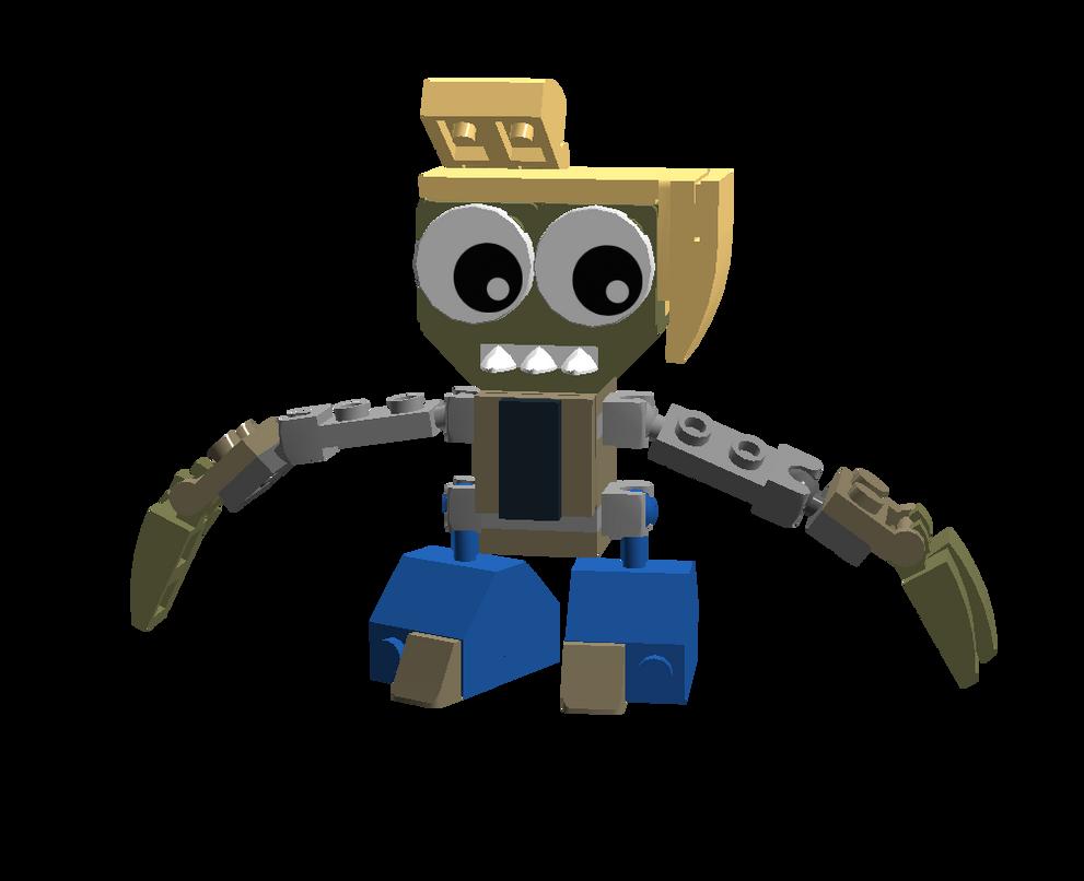 LEGO Fairly Odd Mixes: Chester McBadbat by Luqmandeviantart2000