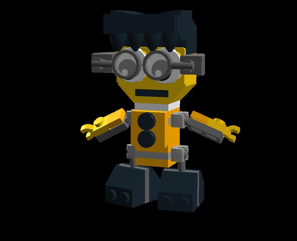 LEGO Fairly Odd Mixes: Sanjay by Luqmandeviantart2000