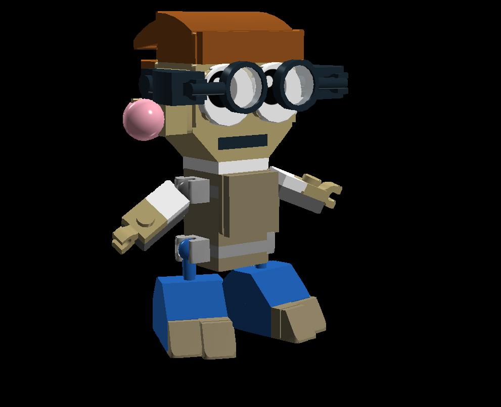 LEGO Fairly Odd Mixes: Elmer by Luqmandeviantart2000