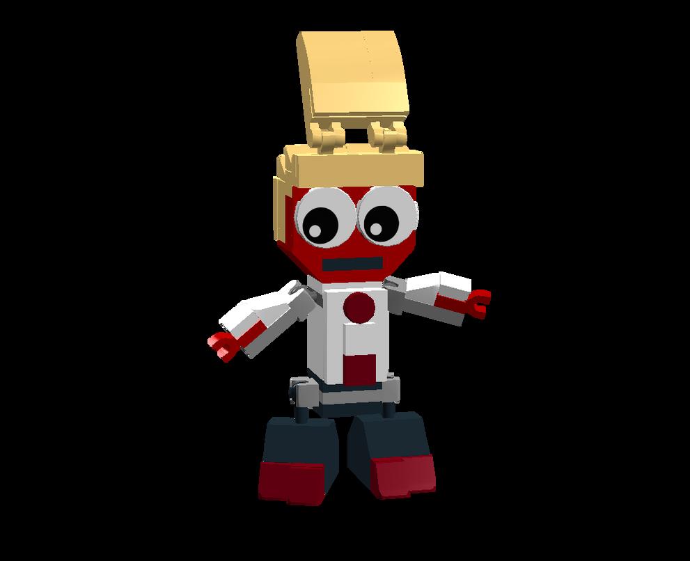 LEGO Fairly Odd Mixes: Remy Buxaplenty by Luqmandeviantart2000