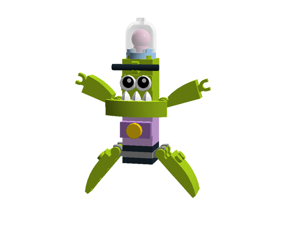 LEGO Fairly Odd Mixes: Mark Chang by Luqmandeviantart2000