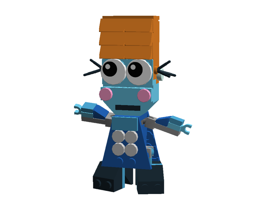 LEGO Fairly Odd Mixes: P. Geraldine Waxelplax by Luqmandeviantart2000
