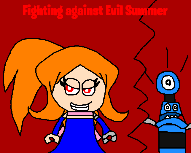 Mixels: Fighting against Evil Summer by Luqmandeviantart2000