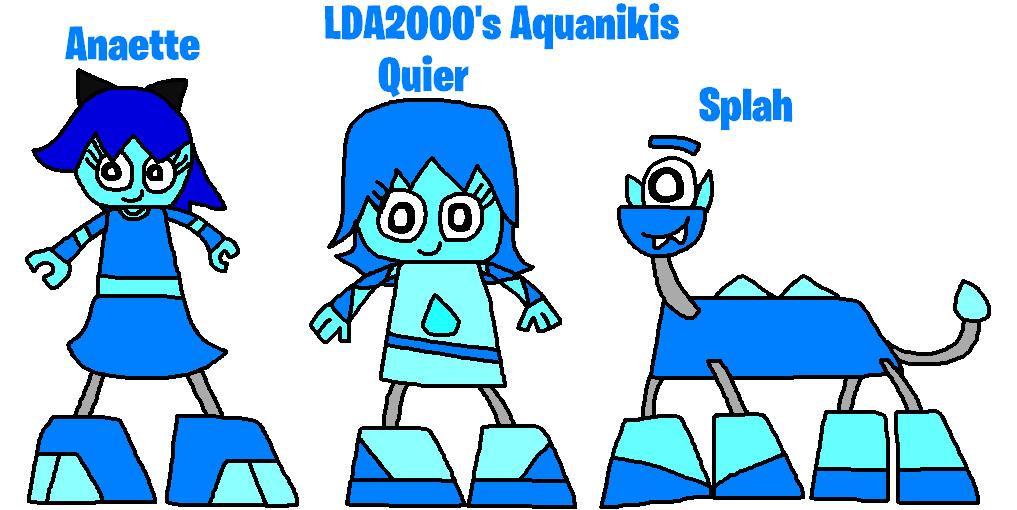 Mixels: OC's tribes: LDA2000's Aquanikis by Luqmandeviantart2000
