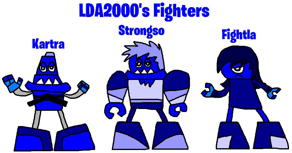 Mixels: OC's tribes: LDA2000's Fighters by Luqmandeviantart2000