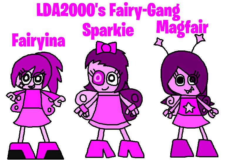 Mixels: OC's tribes: LDA2000's Fairy-Gang by Luqmandeviantart2000