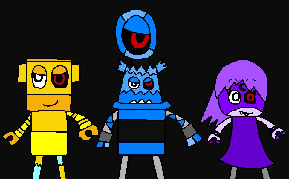 MixelsXTokyo Ghoul: Luqman2, Eyemo and Aissya by Luqmandeviantart2000