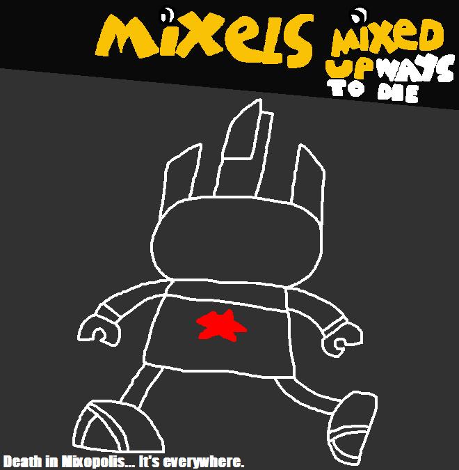 Mixels: Mixed Up Ways to Die Poster 2 (Redo) by Luqmandeviantart2000