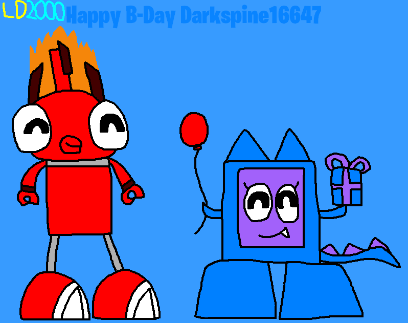 Happy B-Day Darkspine16647 by Luqmandeviantart2000
