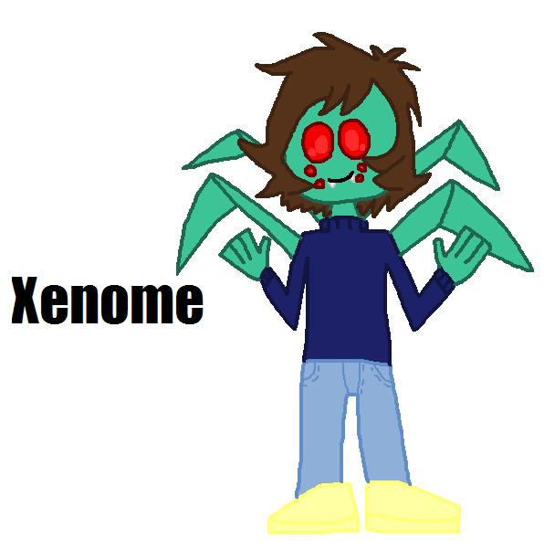 Xenome by Luqmandeviantart2000