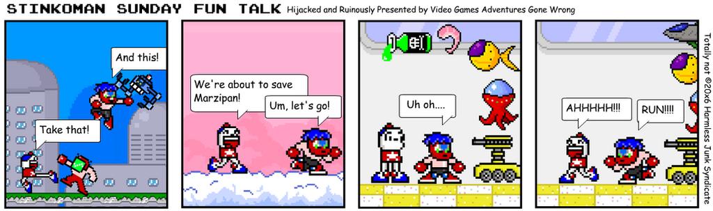 SSFT: Video Games Adventures Gone Wrong by Luqmandeviantart2000