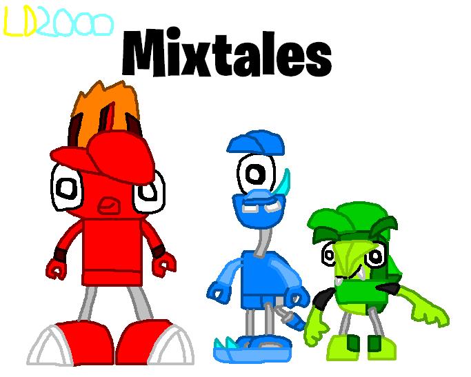 DucktalesXMixels: Mixtales by Luqmandeviantart2000