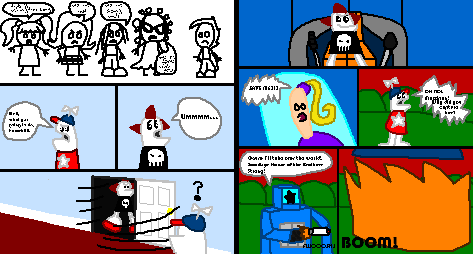 Homestar Runner: Marzipan's Captured page 5 and 6 by Luqmandeviantart2000