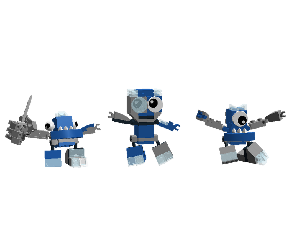 LDD Mixels: Robo-borg Models by Luqmandeviantart2000