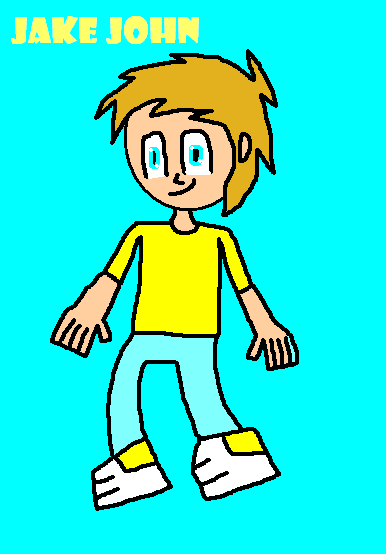 OC: Jake John (FIRST DRAWING OF 2018) by Luqmandeviantart2000