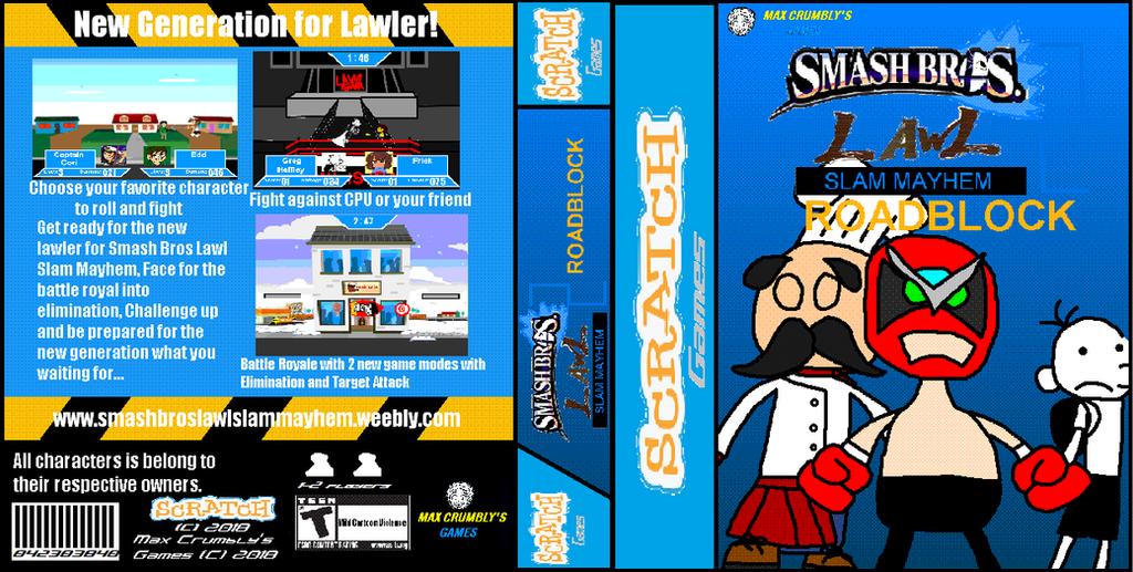 SG Box: Smash Bros Lawl Slam Mayhem 2 Roadblock by Luqmandeviantart2000
