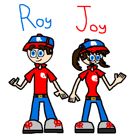 Flipline - Roy and Joy by Luqmandeviantart2000