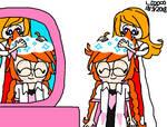 Warioware: Massaging Hair with Shampoo