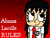 Ahnna Lucille RULES stamp