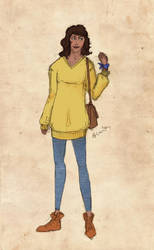Character sheet: Allison