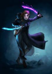 Annie Forestgleam, Human Celestial Warlock