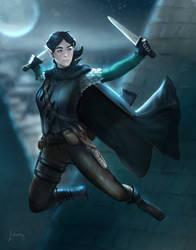 Aria, Elf Rogue