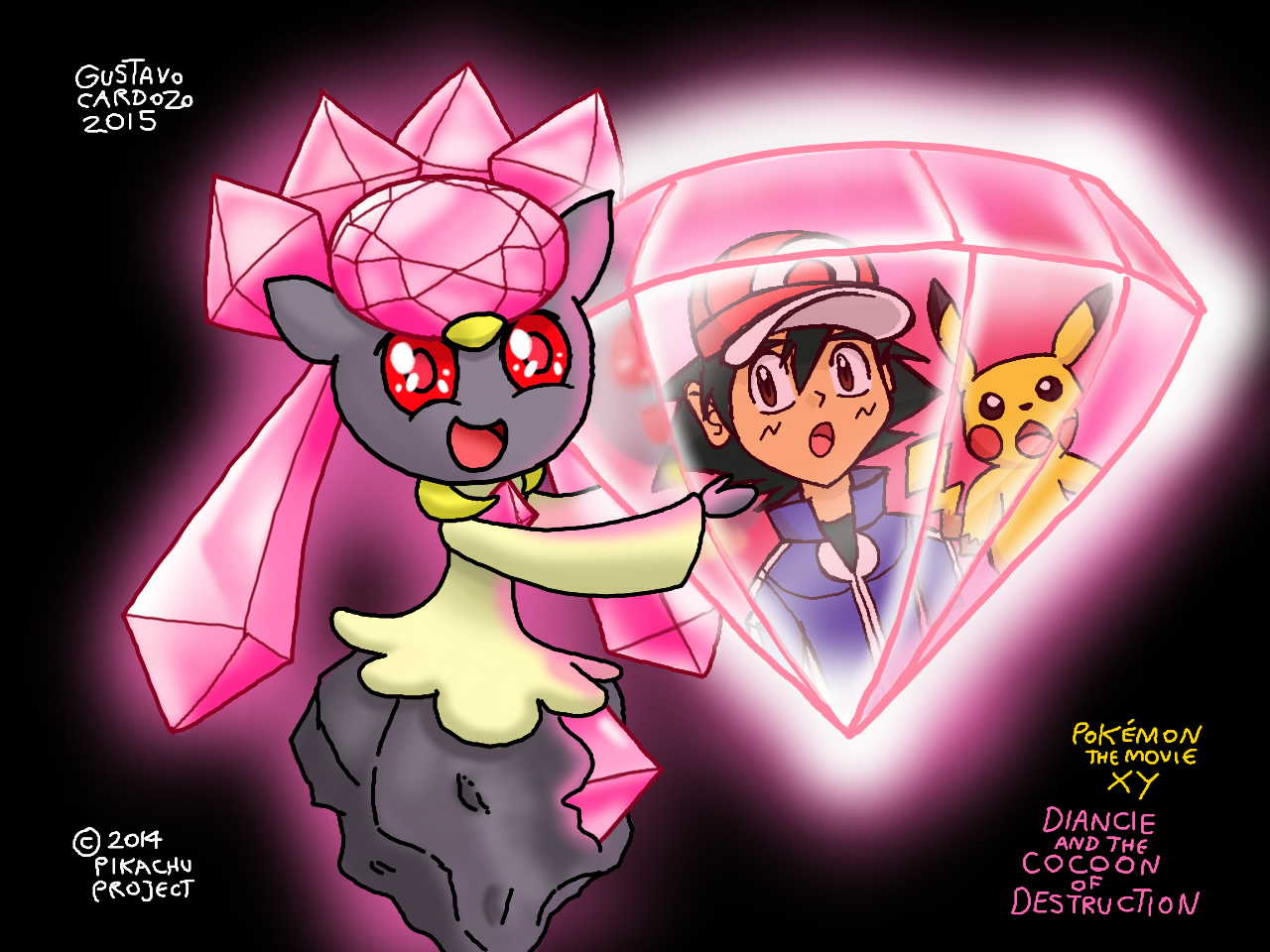 Pokemon Diancie And The Cocoon Of Destruction By