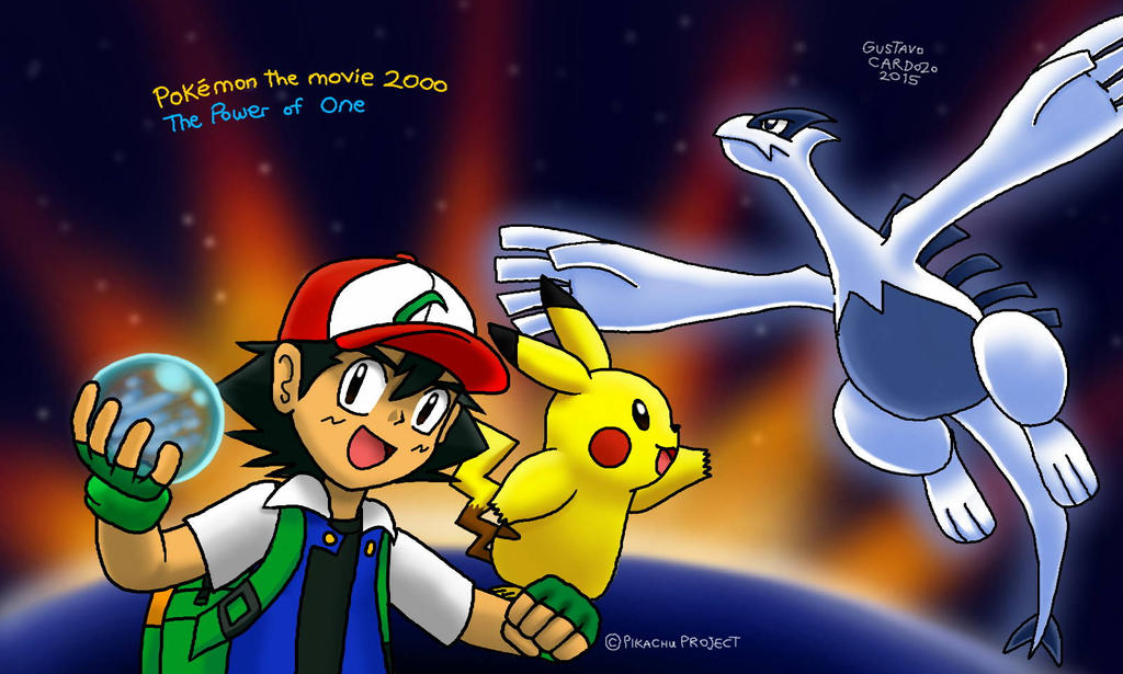 Pokemon 2000 The Power Of One Fan Art By Gustavocardozo97 On